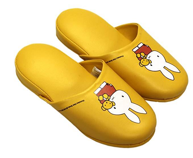 Dép trẻ em màu vàng hình thỏ Miffy