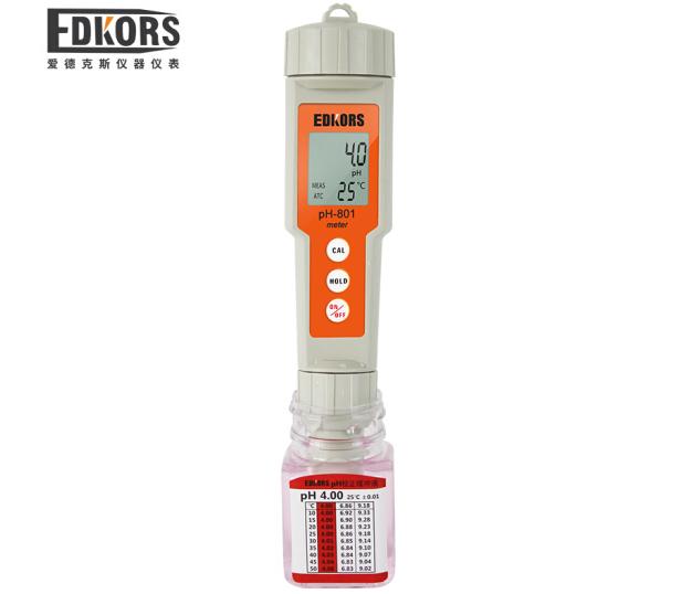 EDKORS Máy đo độ PH phòng thí nghiệm Portable PH bút máy đo độ axit Axit bút pH Tester bể cá nước PH