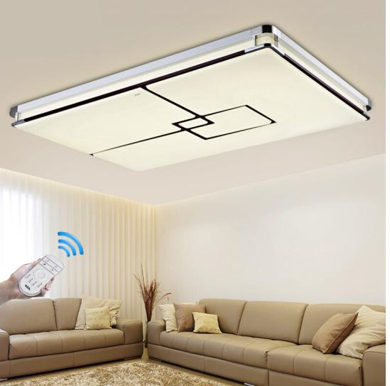 TCL dẫn hút đèn hướng dẫn phương cục 72W điều khiển từ xa vô cực chỉnh ánh sáng đèn đèn phòng khách