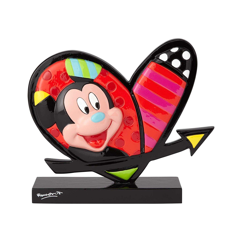 Tượng trái tim Mickey và Minnie để bàn Enesco