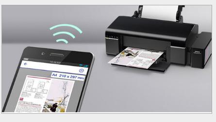 Epson in Epson L805 nóng máy in có kết nối điện thoại WIFI áo phông in hình