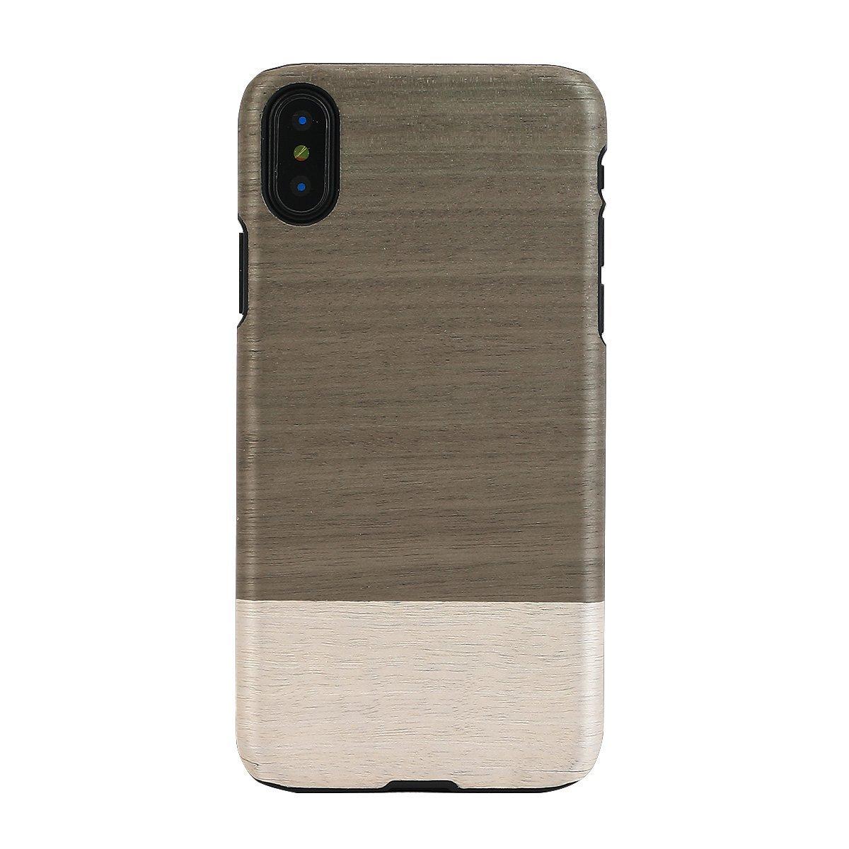 Woodman Điện thoại vỏ gỗ tự nhiên man&wood Iphone X Einstein Einstein (マ điều thất điều ước chừn