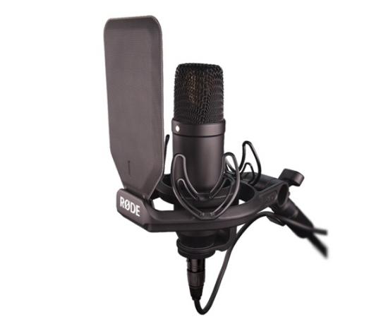 RODE RODE Rhodes NT1KIT micro phòng thu âm chuyên nghiệp tụ màng loa NT1A nâng cấp NT1KIT