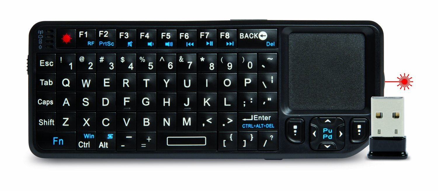 Hamlet Xrfkeypadlp Wireless Keyboard Radio Transfer, PC / Mac, Keyboard