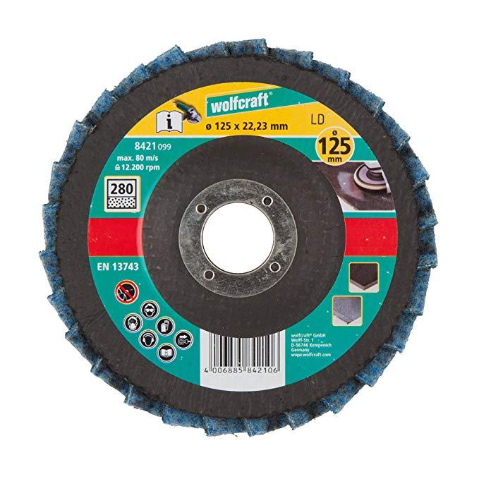 Wolfcraft 8421099 Bánh xe LC DISC Ø 125 x 22,2 mm