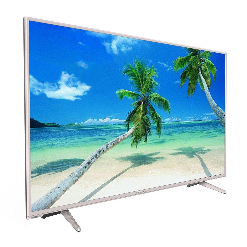 KONKA   led65r6000u 65 cm 4K siêu thanh phiến mỏng HDR Plasma TV thông minh sâm - banh vàng nhạt.