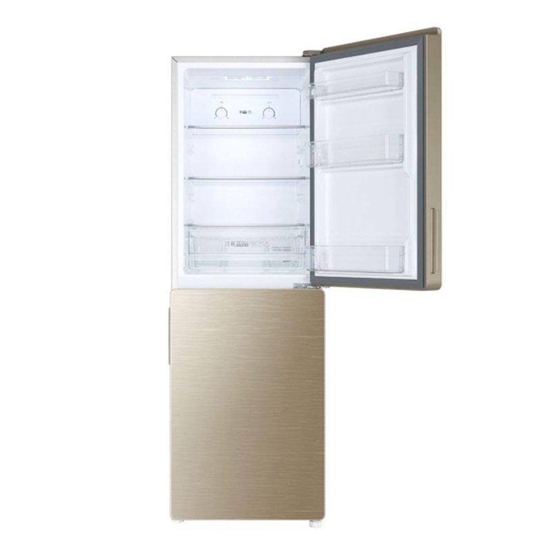 Haier   Hale Hale BCD - 190wdgc hai cửa 190 lít định tần số trong tủ lạnh.
