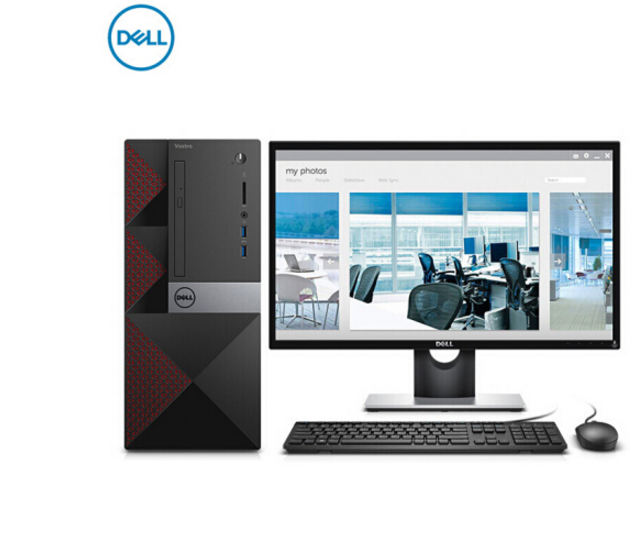 Dell (DELL) achievements 3668 commercial office desktop computer (i5-7400 8G 1T 2G alone significant