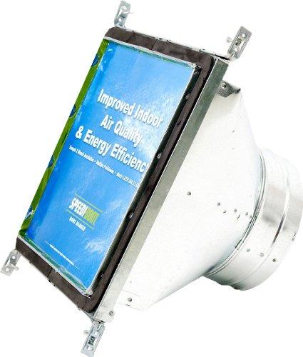 Speedi-Boot SBH-121212 SRA 12-Inch Chiều rộng bằng 12-Inch Chiều dài đến 12-Inch Đường kính Vuông-to