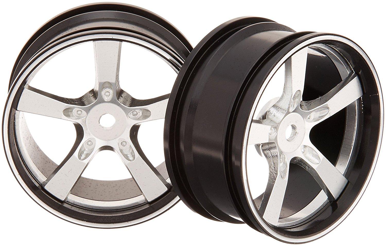 Killerbody 1 / 10 chiếc Camero SS NC nhôm trục bánh xe màu bạc (2) 48079sil