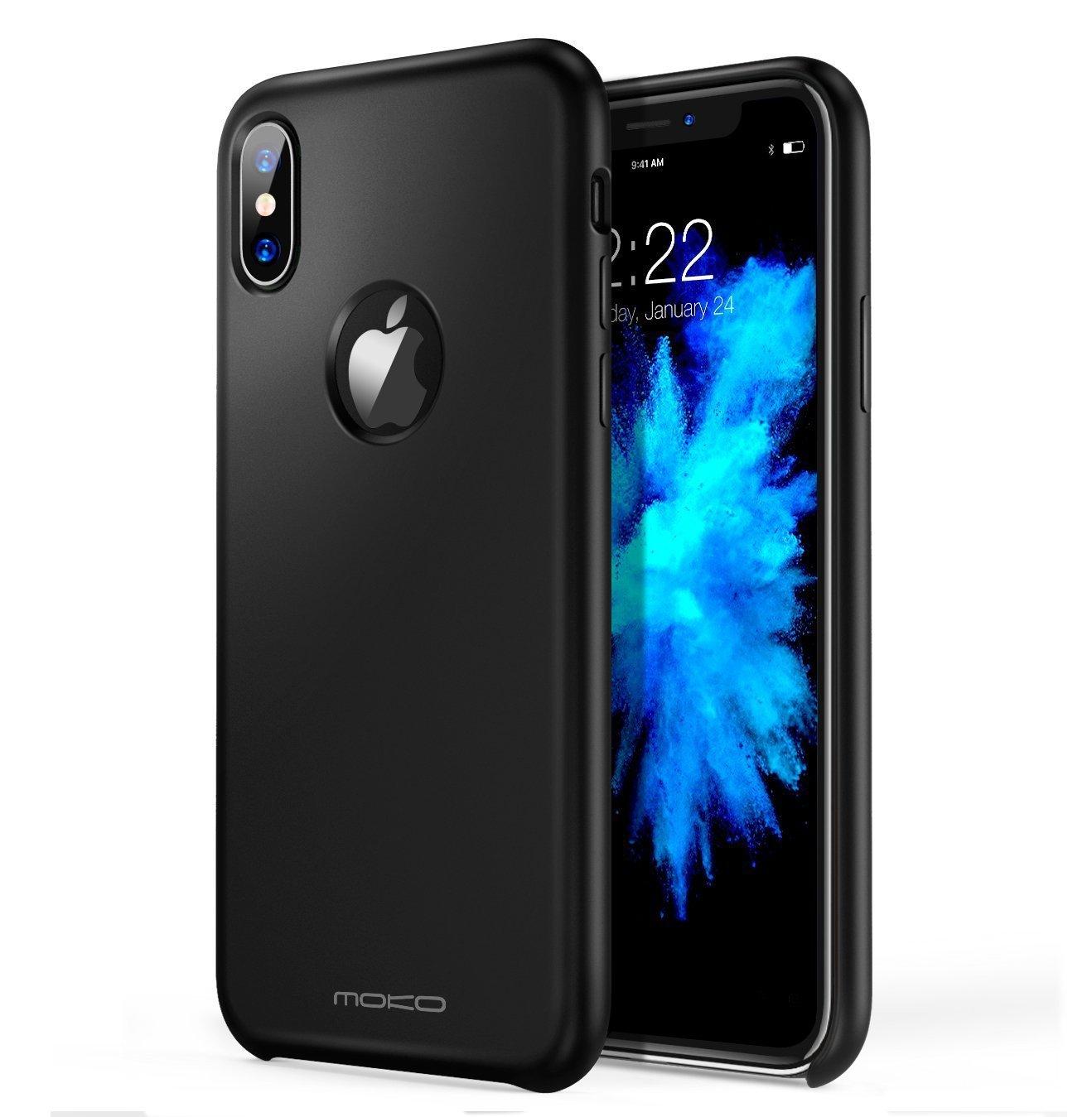 Mỹ MoKo Apple iPhone, điện thoại di động hệ vỏ bảo vệ iPhoneX/iPhone10 x x chớt nhả vỏ táo silica ge