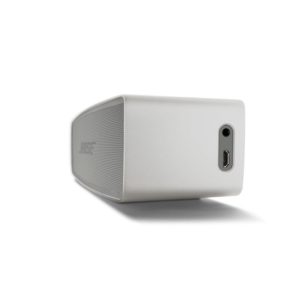 BOSE   Loa Bluetooth  Bose soundlink xám nhạt. Mini Bluetooth trình II