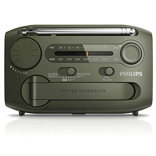 Philips Philips Philips AE1120/93 mini tự cung cấp năng lượng âm thanh radio xách tay lắc điện sạc U