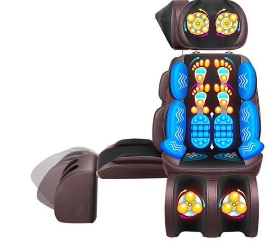 Le er kang xương cổ xoa bóp cổ người xoa bóp vai đệm eo gối massage nghi sang nâng cấp đáng sợ