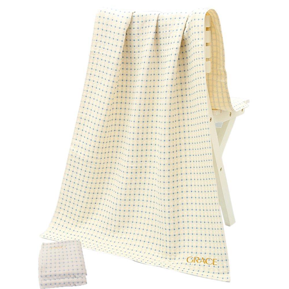 Grace hai sợi xoắn lưới nhỏ không tắm khăn tắm 8549