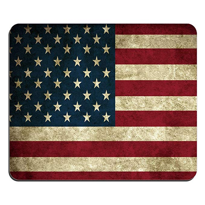 Thời trang chuột pad USA cờ Mỹ tùy chỉnh hình chữ nhật chuột pad chuột pad
