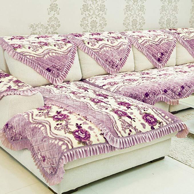Shu Tianle sofa Sang Trọng đệm non-slip sofa vải bìa Dày chống ẩm sofa bìa vải da 1004958 Charming c