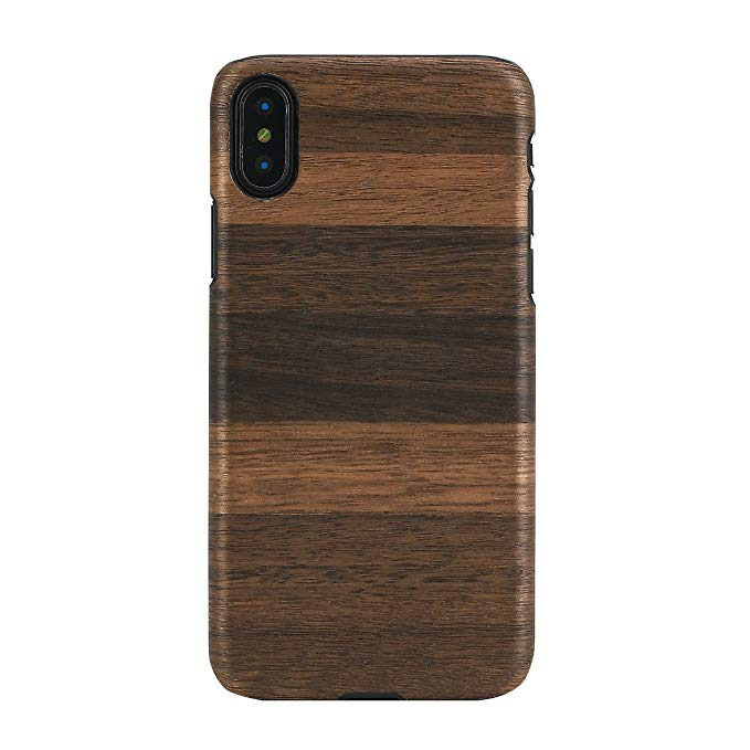 Người đàn ông & gỗ Iphone X điện thoại di động trường hợp gỗ tự nhiên Fango Apple điện thoại di động