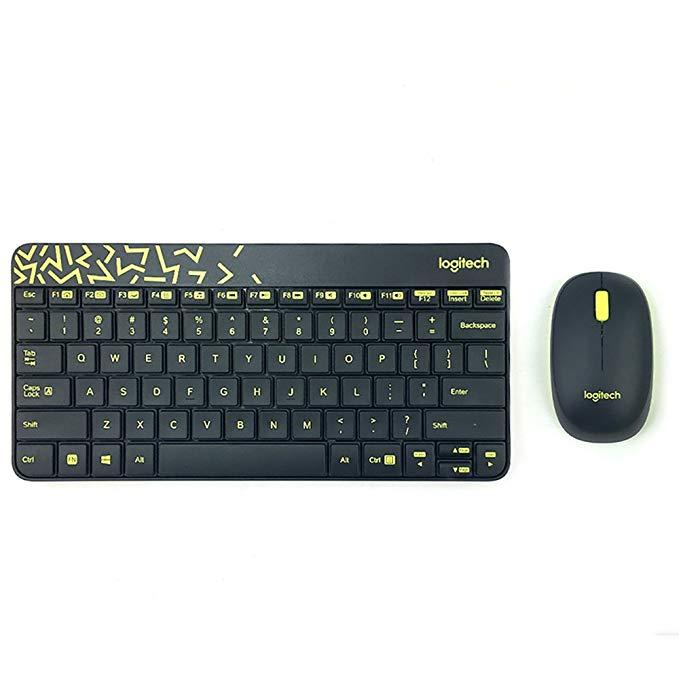 Logitech - MK240 Nano Bàn phím thu nhỏ đầy màu sắc