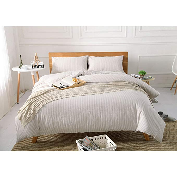 Beihaolai chất lượng tốt bông rửa bốn mảnh bông bông bông Tân Cương sọc giường, bông- nhuộm Nhật Bản