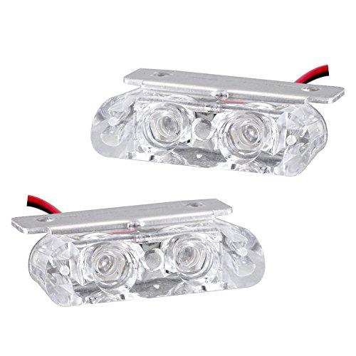 Metia đèn xe máy sửa đổi xe máy strobe lights 12 v đèn điện Đèn Lồng xe máy đèn trang trí giấy phép