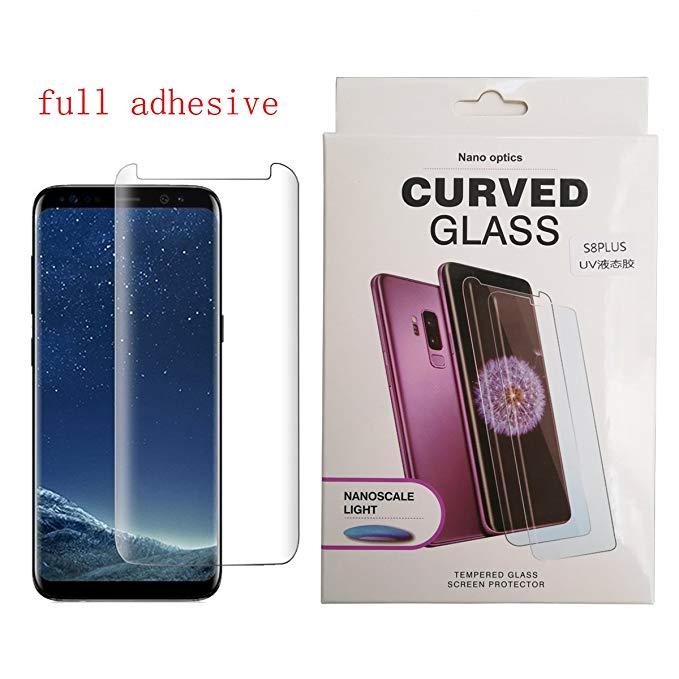 GALAXY S8 + Bảo vệ màn hình 3d Cong Edge để Edge Vỏ điện thoại di động Thân thiện với môi trường Ful