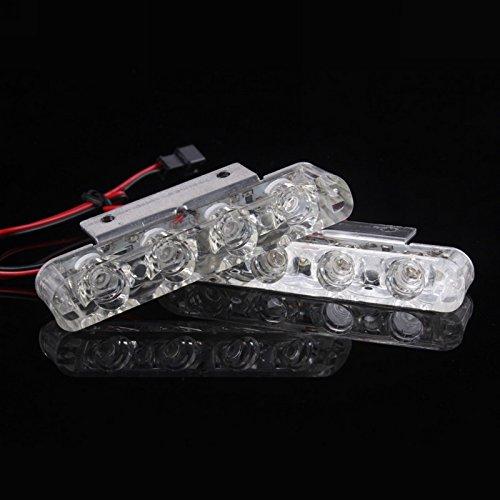 Metia đèn xe máy sửa đổi đèn điện xe máy đèn xe đèn trang trí giấy phép mảng lights LED strobe phanh