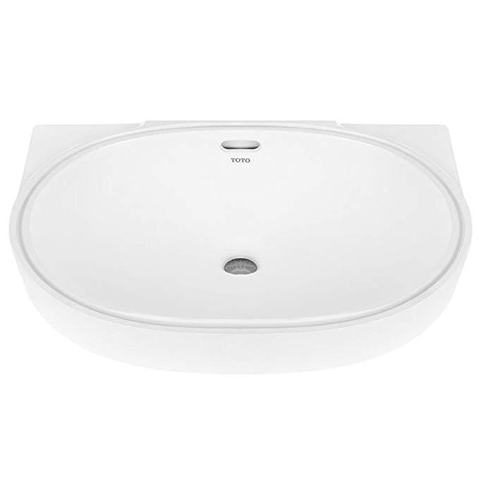 Bồn rửa TOTO LW546B chậu rửa bằng gốm chậu rửa chậu rửa mặt dưới lưu vực truy cập