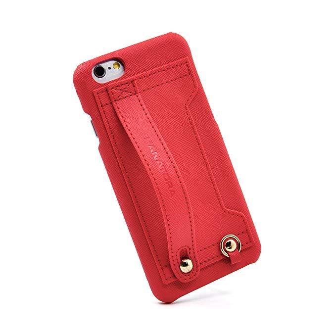 Nhật Bản HANATORA Hoa Tiger H6 Chất lượng cao iPhone6p Vỏ điện thoại di động Bìa Card Holder Drop-pr