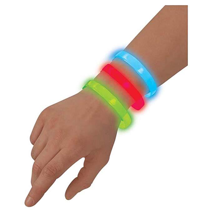 Gói 3 vòng tay phát sáng, màu sắc đa dạng FlashBanz Toysmith