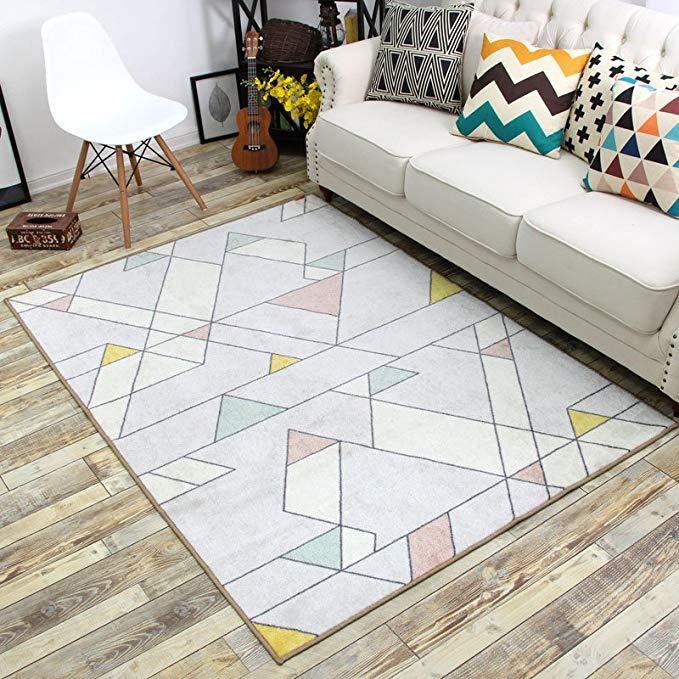 Quạt MSK, thảm, thảm phòng khách, thảm sofa phòng ngủ, pháo hoa, 500 * 800MM