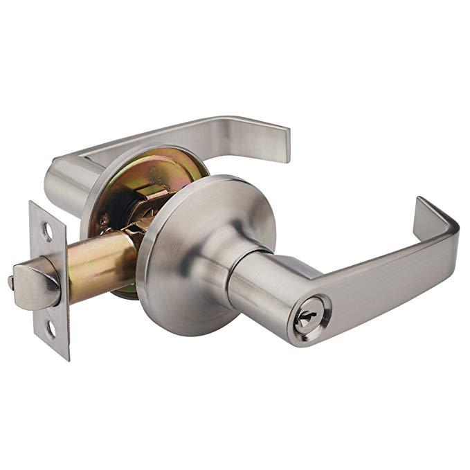 Henyin WAVE lever keyed cửa truy cập khóa / door knob phần cứng knob đòn bẩy và Tủ Quần Áo leverset