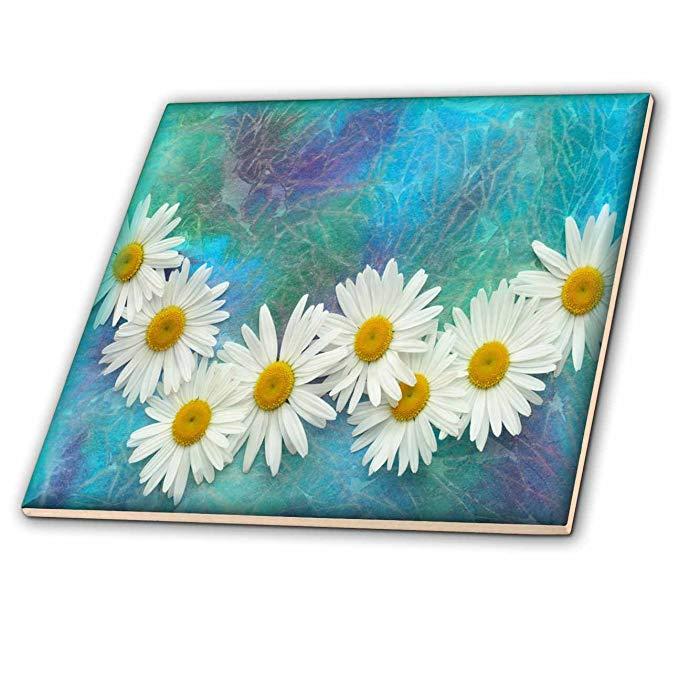 CT _ 36550 Susan Brown Thiết kế hoa Theme - Daisy Necklace - Ngói