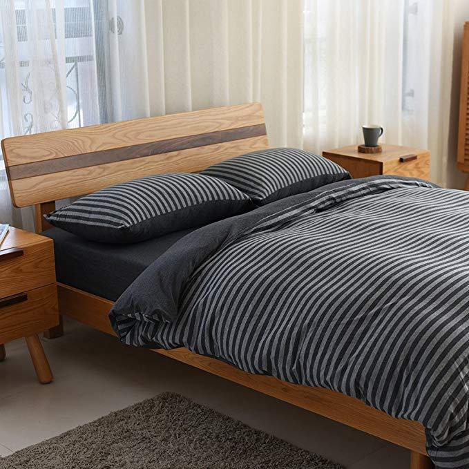 Nhật Bản- phong cách quầy với cùng một giường tốt [5 màu sắc tùy chọn] scorpio bông đan giường bốn m