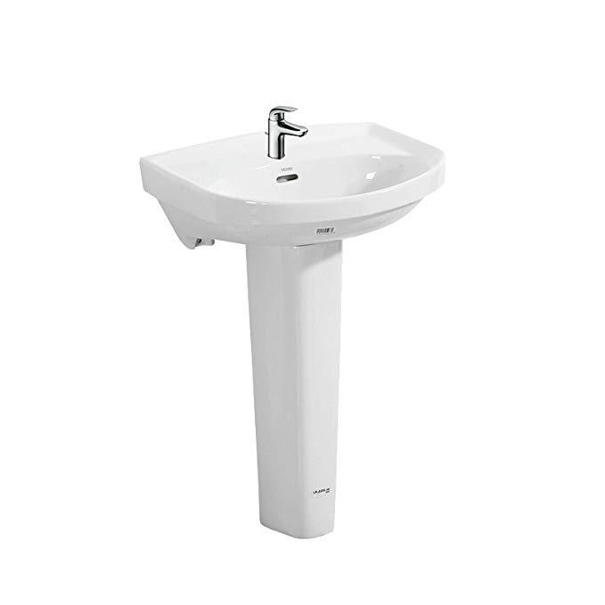 TOTO phòng tắm rửa cột lưu vực LWN251CB / LWN220FRB + TLS04301B với vòi kết hợp