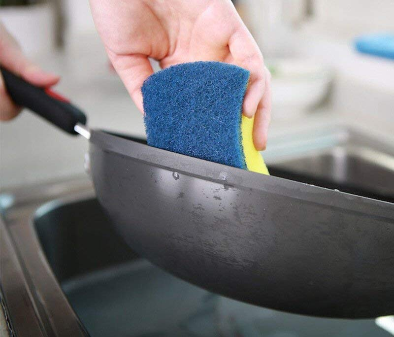 Scotch-Brite tư cao bố phòng tác dụng vải khăn lau rửa chén bông rửa chén 2 gói combo 3