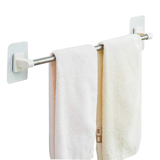 Bao Youni miễn phí đấm thanh khăn dán tĩnh điện rack khăn phòng tắm nhà vệ sinh phòng tắm treo que r