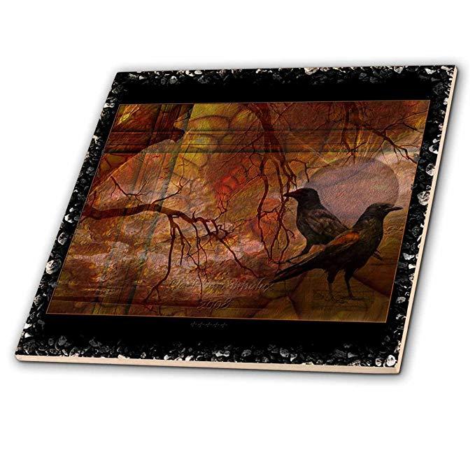 Mimulux quạ và quạ nghệ thuật - ravens thế giới tưởng tượng darkfantasy ravens RAVEN CROW mysticism