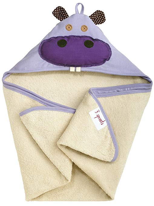 3 Sprout Hooded Baths Hippo