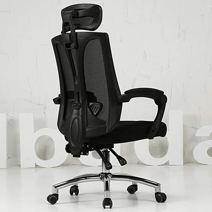 Ghế máy tính ghế văn phòng nhà esports ghế ngả ghế xoay (đen không hỗ trợ chân)