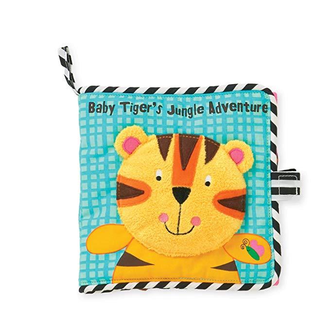 Sách vải hình động vật Manhattan Toy