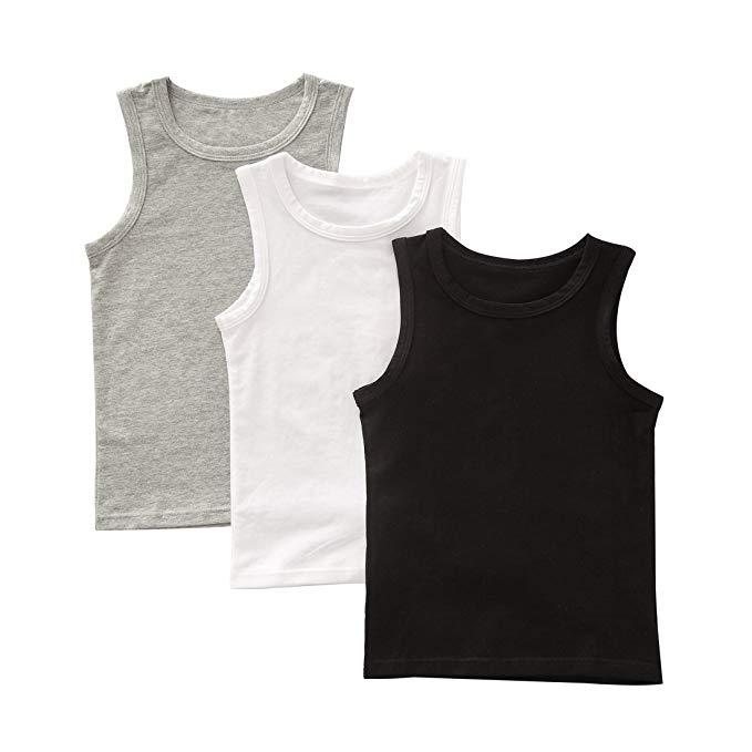 Set 3 áo thun 3 lỗ 3 màu Benetia