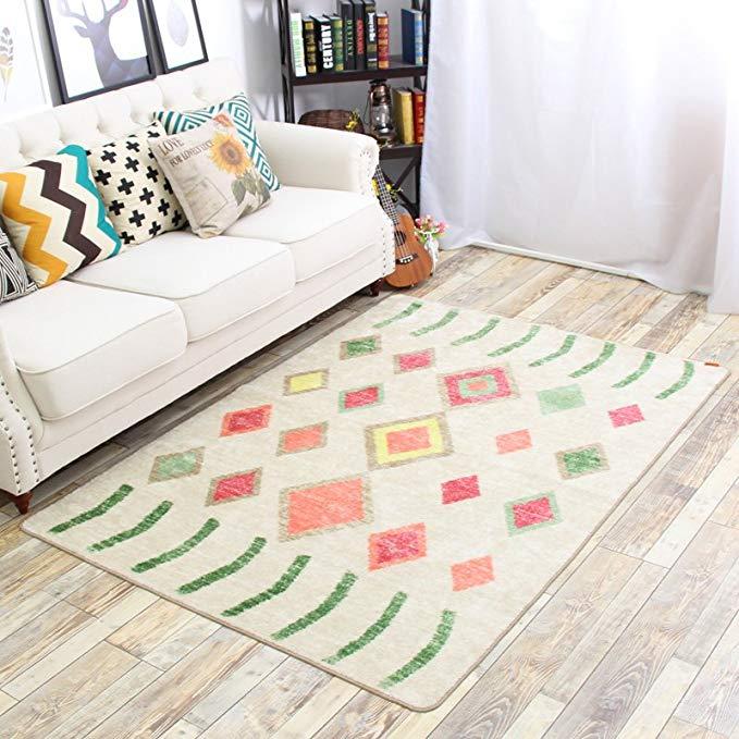Quạt MSK, thảm phòng khách, thảm sofa phòng ngủ Gothenburg nghệ thuật 400 * 1200MM