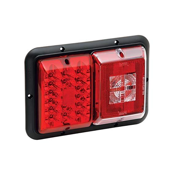 Bragman khung LED đèn hậu sợi đốt màu đỏ  .