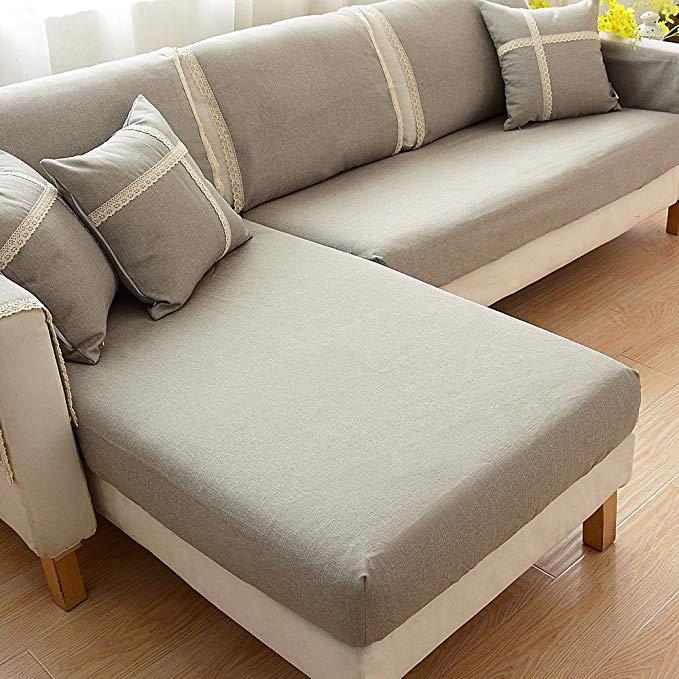 Le Wei Shi sofa bìa bao gồm tất cả bốn mùa sofa bìa khăn full bìa chaise kết hợp vải đơn giản hiện đ