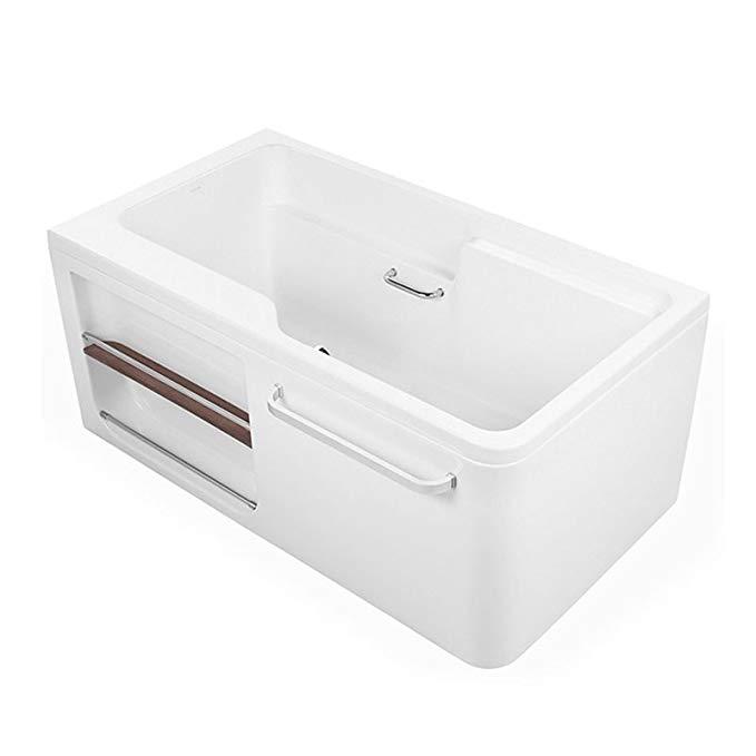 Bồn tắm acrylic tích hợp KOHLER Kohler 1.3m (góc phải) K-99014T-0) (không có bảng lưu trữ)