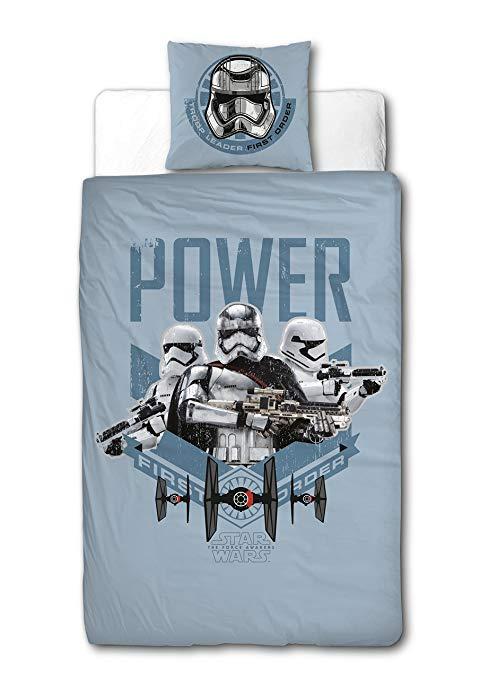 Sahinler / Star Wars Lucas Phim Disney 22010033 Màu xanh bông Quilt Cover 140 x 200 cm gối 63 x 63