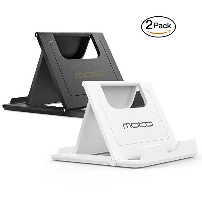 MoKo điện thoại di động tablet chủ đa góc có thể gập lại nhựa cầm tay chủ cho Apple iPad Mini 1/2/3/