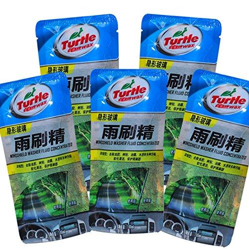 Turtle Wax G-4006*5 siêu tập trung xe cần gạt nước tinh chất làm sạch kính 5 túi