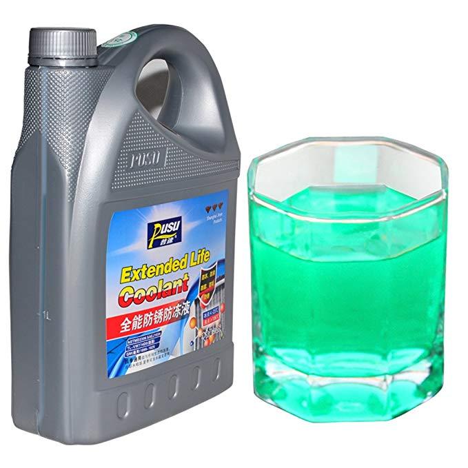 Pu tốc độ xe chất chống đông xe coolant chống đóng băng tank kho báu màu xanh đỏ xanh 2 kg-25 ° màu